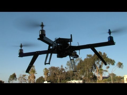 Controversial Drone Industry Growing in San Diego