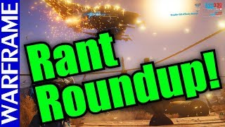 Warframe Rant Roundup: Plains of Ediolon Edition! Oh boy...