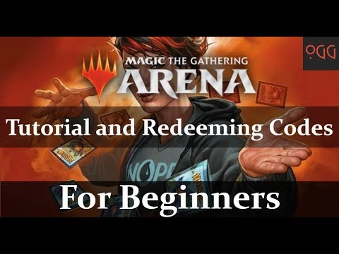 MTG: Arena for Beginners - Tutorial and Redeeming Codes