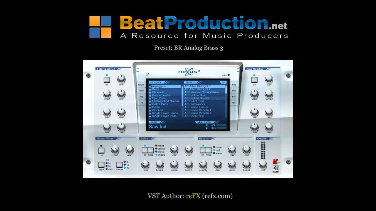 nexus synth free download