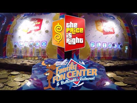 The Price is Right Plinko Arcade Game - Wilsonville Family Fun Center