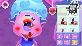 LITTLE MONSTER MAKE-UP App deutsch | Zyklop bekommt KRASSES GRUSEL UMSTYLING wie bei Monster High