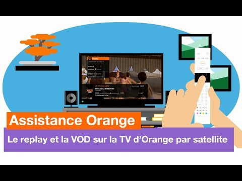 Assistance Orange - TV d'Orange : le replay et la VOD par satellite - Orange