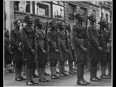 Harlem Hellfighters Video 369th Infantry New York National Guard -African American Soldiers