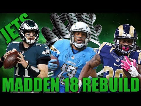 The Greatest Season Ever Played! Rebuilding the New York Jets| Madden 18 Franchise!