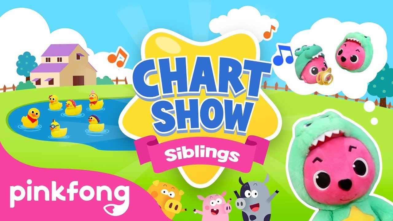 Brothers and Sisters | Pinkfong Chart Show | Pinkfong Songs for Children