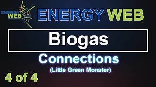 Biogas digester   Connecting the Plumbing   Little Green Monster   Wally Weber 1
