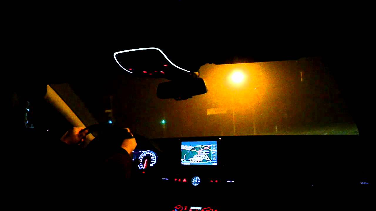 Driving Through The Foggy Night In An Audi A8 4 2 Tdi