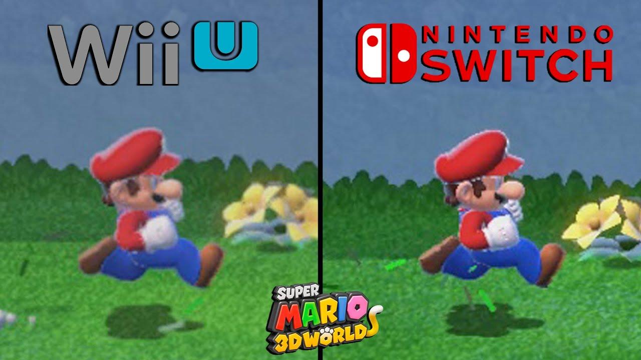 Download Super Mario 3D World Moveset Comparison - Switch VS Wii U
