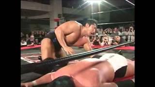 Steve Austin and Samoa Joe on Kenta Kobashi
