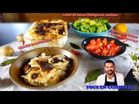 tous-en-cuisine-#5-:-je-teste-le-gratin-dauphinois-et-la-salade-de-fraises-de-cyril-lignac-!