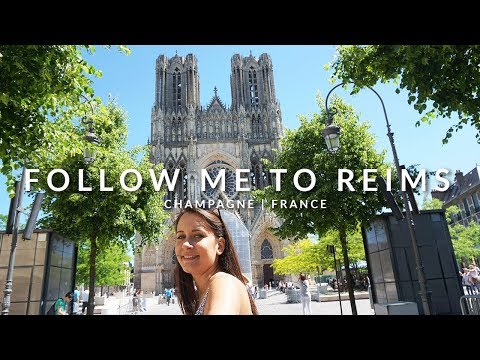 FOLLOW ME TO THE CHAMPAGNE: City Guide to Reims in France   Miss Malvina