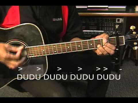 Nickelback Photograph Style Strumming Pattern Tutorial How To Play  D U D U DU Pattern On Guitar
