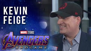 Kevin Feige at the Premiere