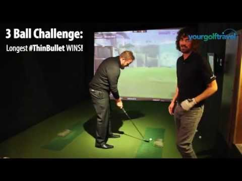Shane Lowry Golf Challenge - Who can hit the biggest #ThinBullet?