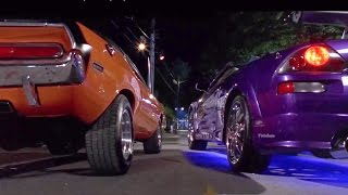 Video 2 FAST 2 FURIOUS - Pink Slip Race (Eclipse & Evo vs Camaro & Challenger) #1080HD download MP3, 3GP, MP4, WEBM, AVI, FLV Januari 2018