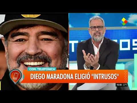Diego Maradona discriminó a Flor de la V
