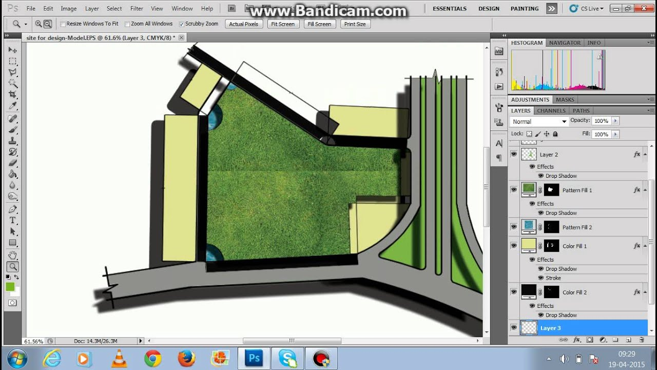 site plan rendering photoshop YouTube – Rendered Site Plan