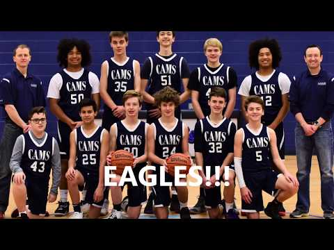 2019 2020 Collegedale Academy Middle School Eagles Basketball