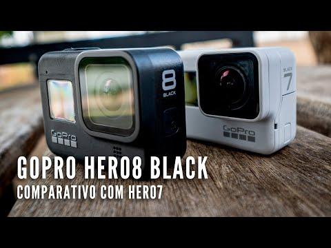 【4K】Review GoPro Hero 8 | Comparativo Hero 7 | Português