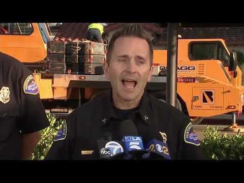 Huntington Beach Officials Update Explosion Crisis