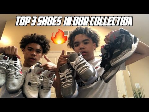 OUR TOP 3 SNEAKERS IN OUR COLLECTION!!!! Derrick & Derrion | HEATTT!!