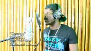 (Offical Video) Black Ryno - Courage - Popcaan Diss - January 2013 (Follow @YoungNotnice)