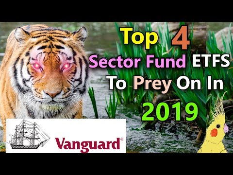Best Vanguard Sector Fund ETF Investments for 2019! Top