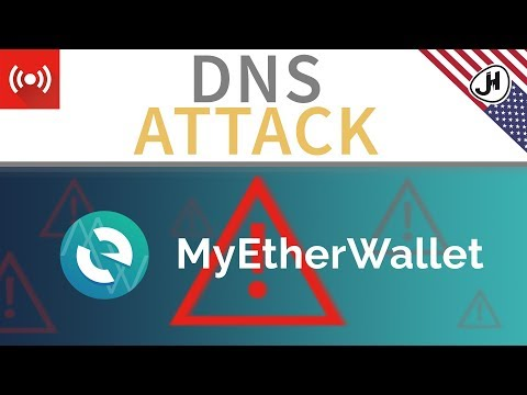 DNS poisoning attack on MyEtherWallet - How to protect? (English)