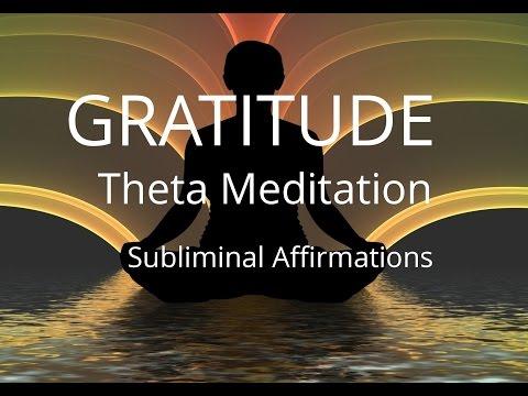 Gratitude | Theta Meditation | Stress | Subliminal Affirmations | Isochronic Tones | Binaural Beats