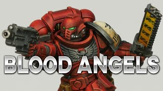 Paint Red Armor like a PRO 'Eavier than Metal Edition Blood Angels & Blood Ravens Assault Intecessor