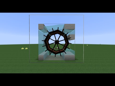Modded Minecraft Tutorial [ENG] | Immersive Engineering Water Wheels Max. Output