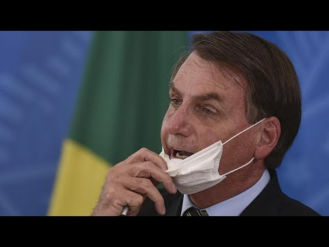 'A little flu': Brazil's Bolsonaro playing down coronavirus crisis