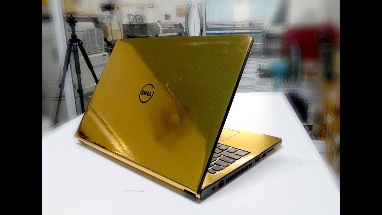 Gold Notebook Sticker Skin