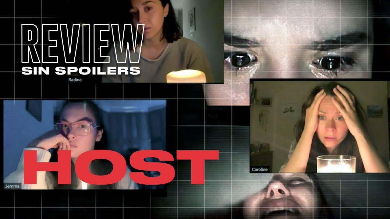 HOST: La película que te asustará por Zoom | Review SIN SPOILERS