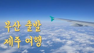 비행기에서 바라본 부산 제주 하늘 제주여행 돌염전 금능…