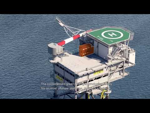 Pilot of First Hydrogen plantFirst offshore pilot plan Poseidon for green hydrogen
