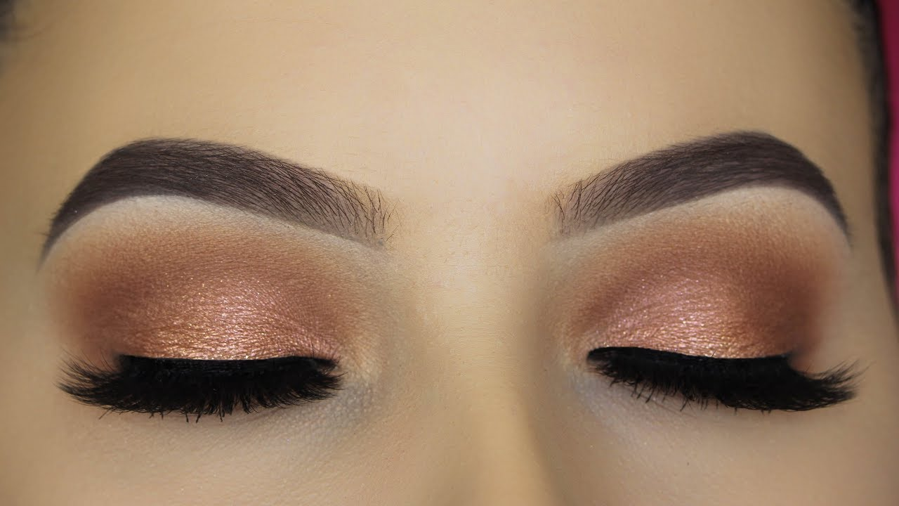 Soft everyday eye makeup tutorial youtube soft everyday eye makeup tutorial baditri Image collections