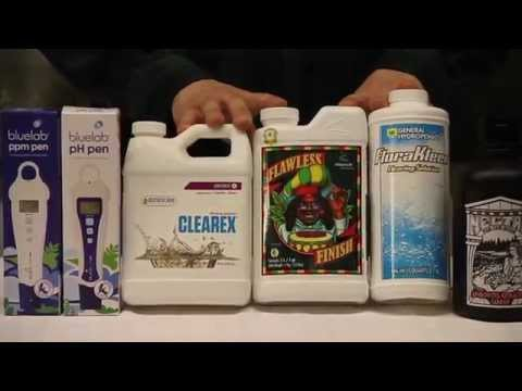 How to Flush you Hydroponic or Soil Plants
