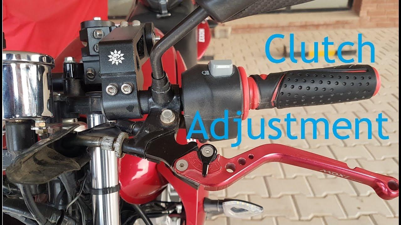 Yamaha YBR Clutch Adjustment - Shifting Issues Solved!!