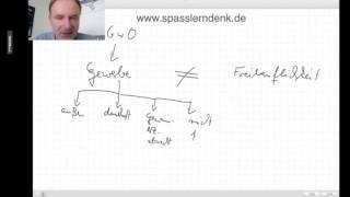 Gewerbe und Freiberuflichkeit / Unterschied und Begriff