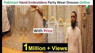 Pakistani Stylish Party Wear And Bridal Dresses With Price || Sale Online