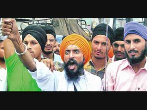 Anger of KHalistan sikh [1984 ]