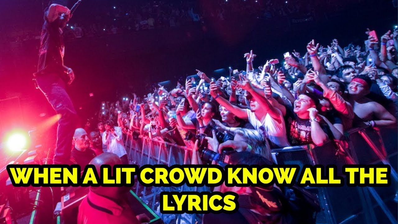 Download WHEN A LIT CROWD KNOW ALL THE LYRICS PART 2 🔥