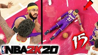 FLAGRANT!? DIRTY PLAYER TRIES TO INJURY ME! NBA 2k20 MyCAREER Ep.15