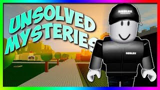 Unsolved Mysteries of ROBLOX...