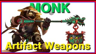 WoW Legion Beta Artifact Weapons - Monk