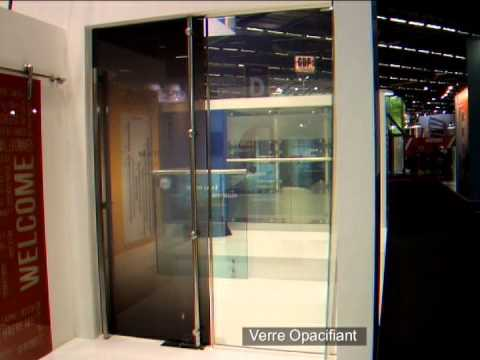 verre opacifiant verre cristaux liquides youtube. Black Bedroom Furniture Sets. Home Design Ideas