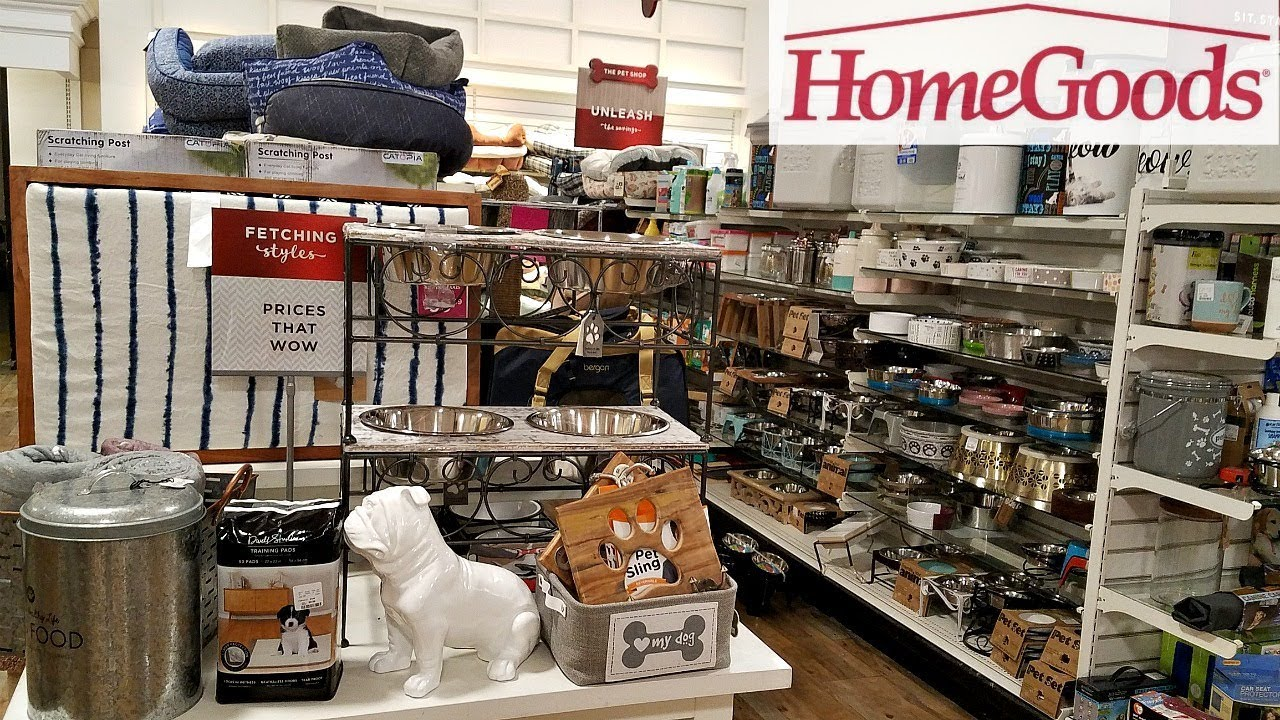 Homegoods Shop With Me Pet Bedding Toys Walk Through 2018 Youtube