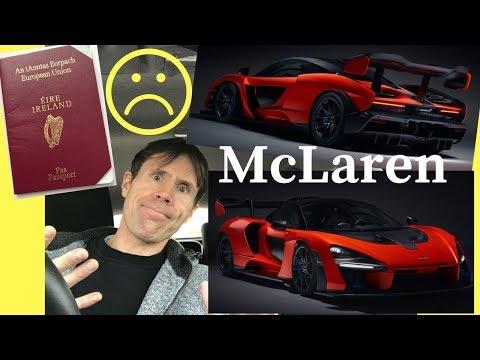 New McLaren Senna Revealed! & I Lost My Passport.!!☹️ - Stavros969